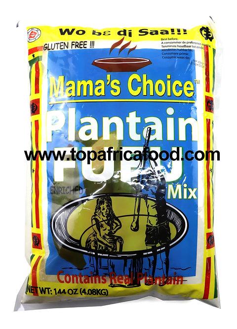 FARI0287 MAMA'S CHOICE FARINE PLANTAIN FUFU 4.08KG