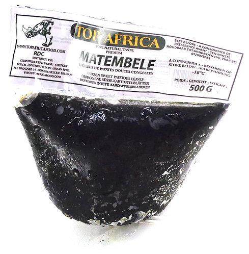 LECG0165 TOP AFRICA PREMIUM MATEMBELE RDC (50X500G) 25KG