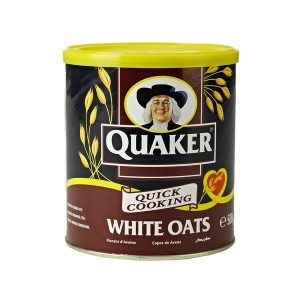 FARI0134 QUAKER FLOCON D'AVOINE WHITE OATS (FRENCH LABEL) 500G