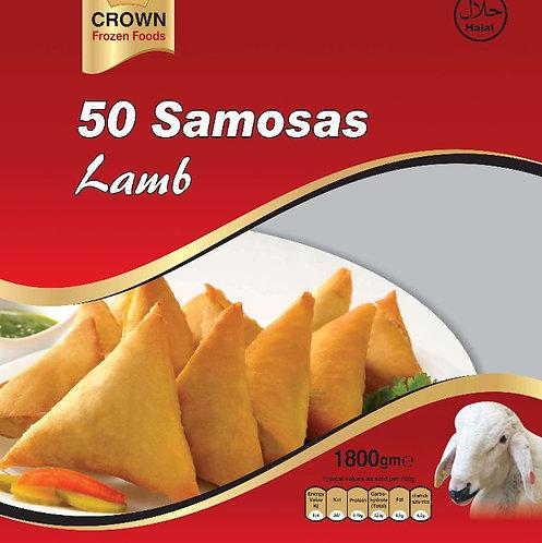 FARI0149 CROWN SAMOSA LAMB 6X50PC