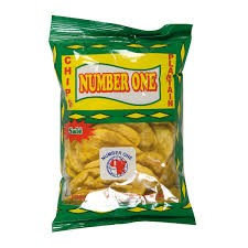 CHIP0002 NUMBER 1 CHIPS AU PLANTAIN SALTED 85G