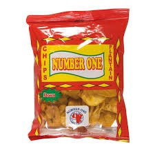 CHIP0003 NUMBER 1 CHIPS AU PLANTAIN SWEET 85G