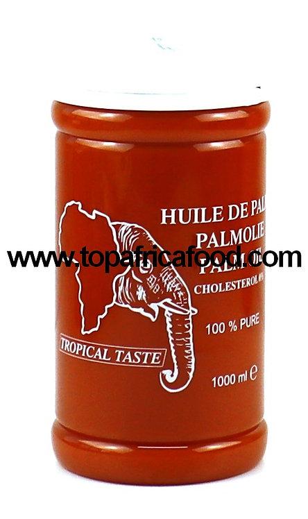 HUIL0072 TROPICAL TASTE PALM OIL 12X1L