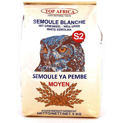 FARI0268 TOP AFRICA SEMOULE BLANCHE MOYEN S2 5KG