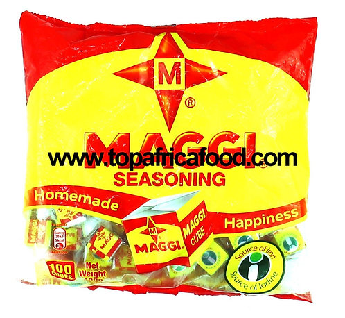 BOUI0103 MAGGI CUBES SEASONNING NIGERIA 100PIECES (ENGLISH LABEL) 100X4G