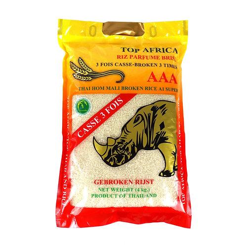 RICE0074 TOP AFRICA RIZ BRISE 3 FOIS PARFUME 4KG