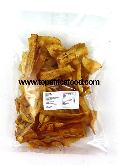 CHIP0009 MIMI'S CHIPS PLANTAIN SALE SALTED 25X150G