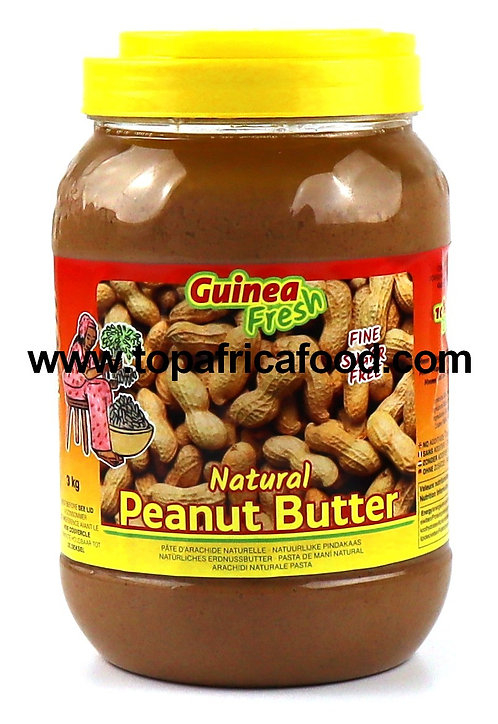 EPIC0119 GUINEA FRESH PEANUT BUTTER PINDAKAAS 3KG