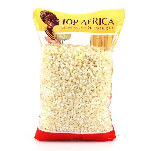 LEFR0116 TOP AFRICA MAIS HOMINY BLANC 1KG
