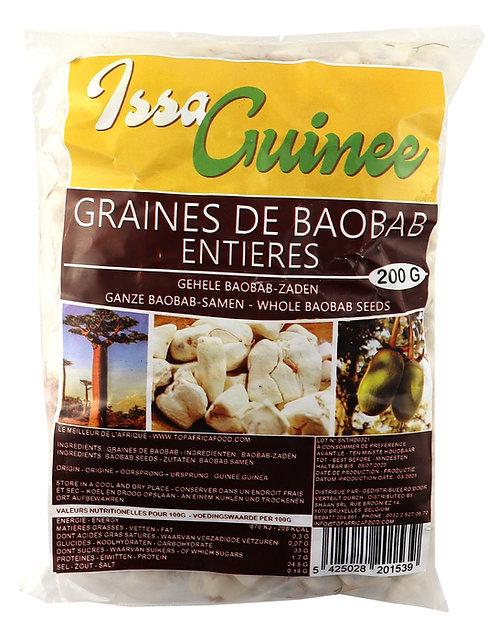 LEFR0214 ISSA GUINEE GRAINES DE BAOBAB ENTIERES 200G