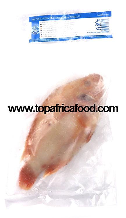 POIS0225 THE ULTIMATE TASTE RED TILAPIA 700-900 4KG