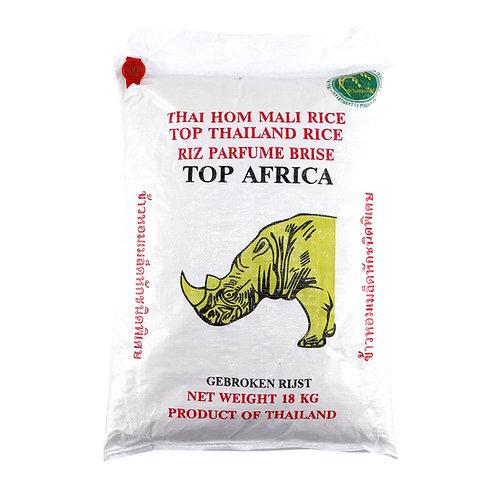 RICE0037 TOP AFRICA RIZ BRISE 18KG
