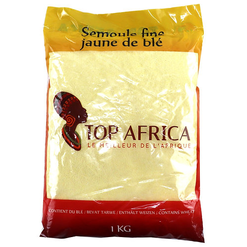 FARI0223 TOP AFRICA SEMOULE FINE JAUNE 1KG