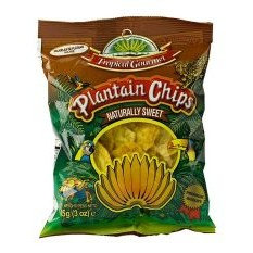 CHIP0007 TROPICAL GOURMET CHIPS AU PLANTAIN EXTRA SWEET 85G