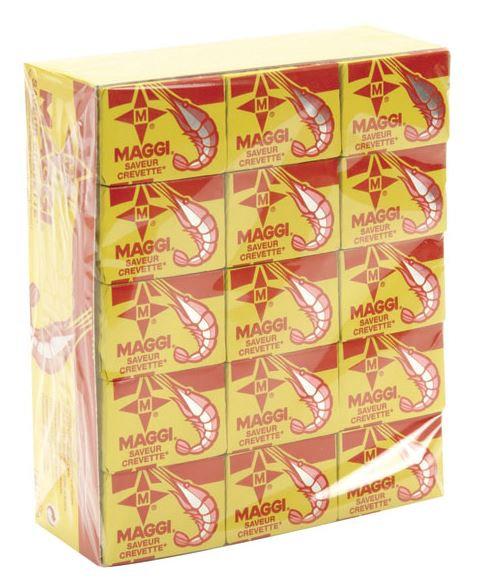 BOUI0016 MAGGI CUBES SHRIMP 60X10G