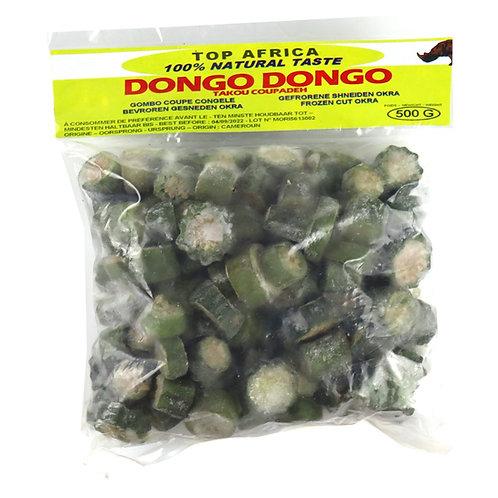 LECG0146 TOP AFRICA OKRA GOMBO DONGO DONGO 500G