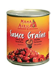 EPIC0031 MAMA AFRICA CREAM SAUCE GRAINE FRENCH LABEL 400G