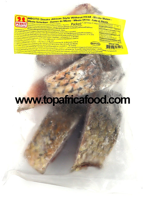 POIS0479 PERFIT MBOTO ROHU STEAKS AFRICAN STYLE PACKED 1KG