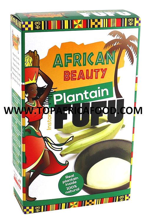 FARI0330 AFRICAN BEAUTY PLANTAIN FUFU 681G