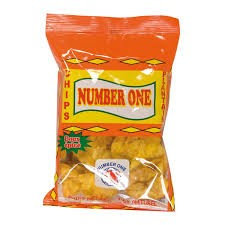 CHIP0001 NUMBER 1 CHIPS AU PLANTAIN SPICE 85G