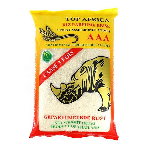 RICE0072 TOP AFRICA RIZ BRISE 3 FOIS PARFUME 16KG