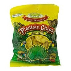 CHIP0005 TROPICAL GOURMET CHIPS AU PLANTAIN SALTED 85G