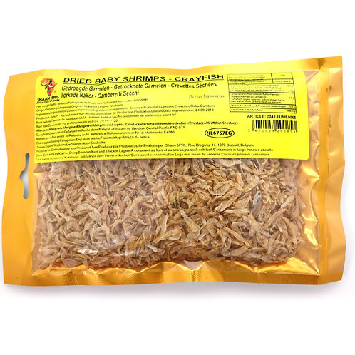 FUME0065 SHAAN DRIED BABY SHRIMPS - CRAYFISH 60G