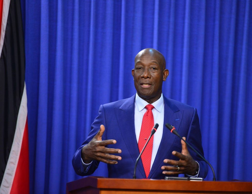 Prime Minister & Volcanologist Dr. Keith Rowley