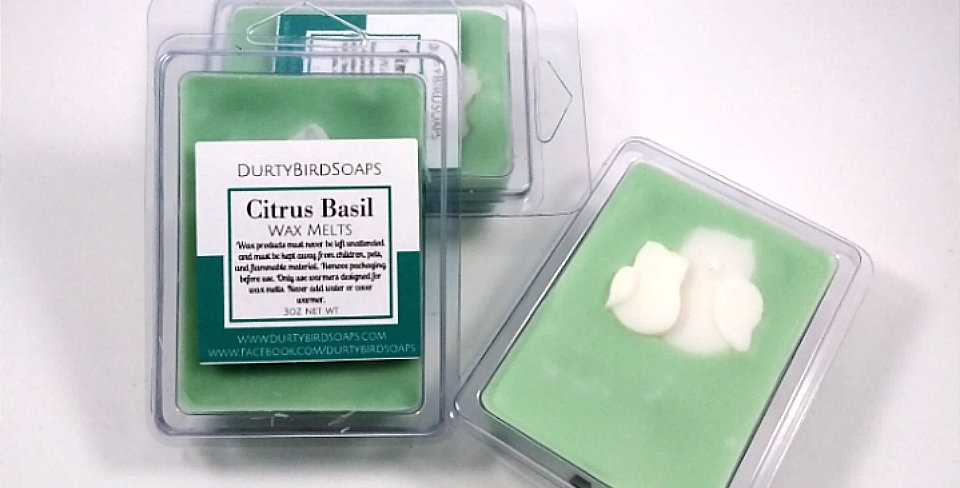 Citrus Basil Wax Melts
