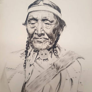 Old Blackfoot Woman