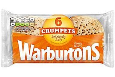 Warburton's Crumpets 6pk