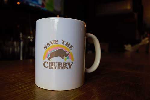 Save the Chubby Unicorn Mug