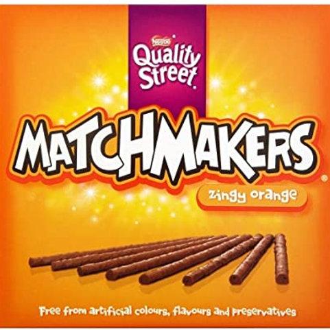 Matchmakers Zingy Orange