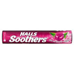 Halls Soothers Blackcurrent