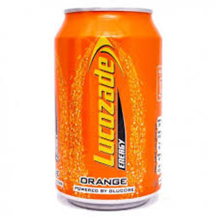 Lucozade Orange Cans 330ml