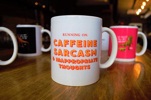 Caffeine & Sarcasm Mug