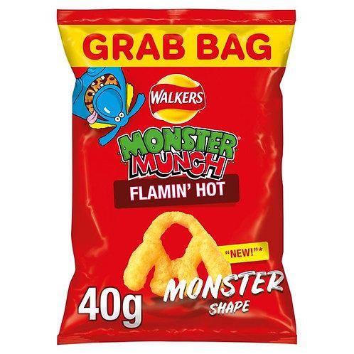 Monster Munch Flamin' Hot Grab Bag