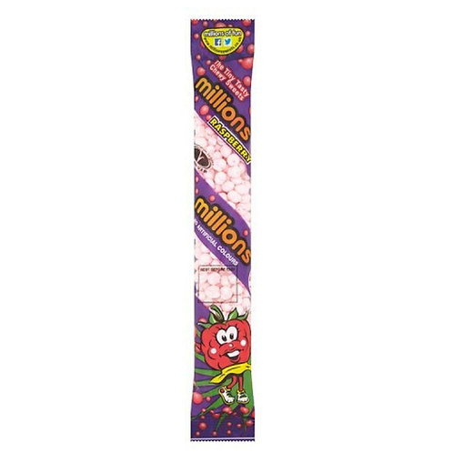 Millions Raspberry Chewy Sweets 65g