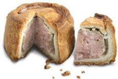 Melton Mowbray Pork Pie's 125g
