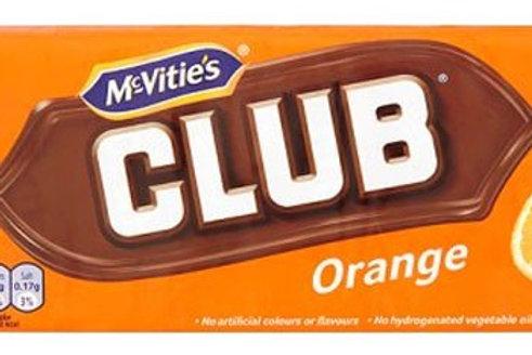 Orange Club Biscuits 6pk