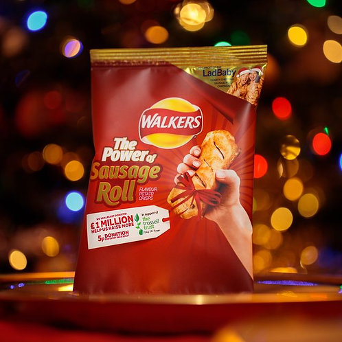 Walkers Sausage Roll 32.5g