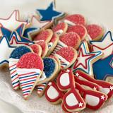 Patriotic Iced Cookies