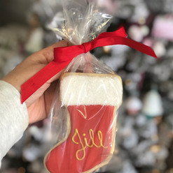 Custom Stocking Cookie