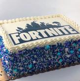 Fortnite Sheet Cake