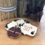 Fall Birthday Cookies
