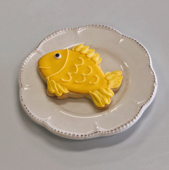 Goldfish Cookie