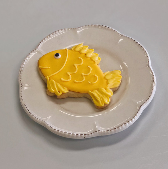 Goldfish Cookie