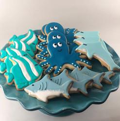 Sea Animal Cookies