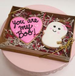 Boo Valentine's Cookies