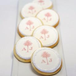 Wedding Logo Cookies